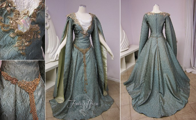 Galadriel Inspired Gown