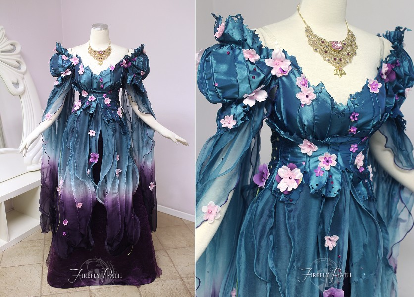 Royal Spring Faerie Gown