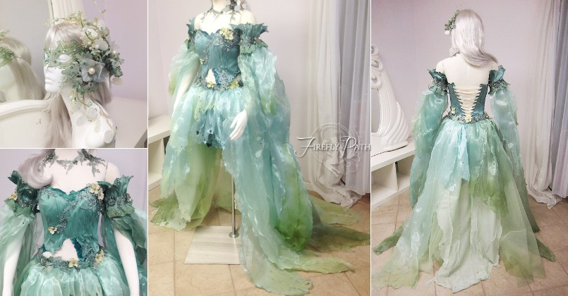 Seafoam Fairy Dress