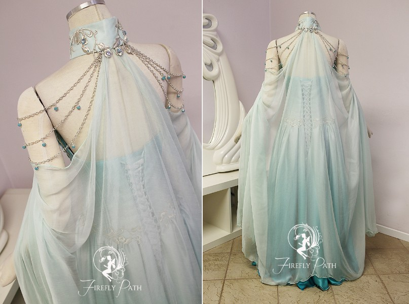 Frost Elven Bridal Gown