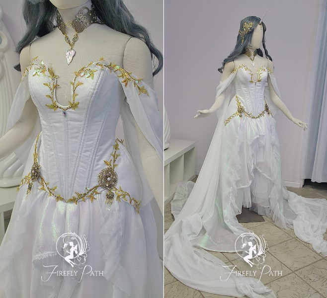 Crystal Unicorn Gown