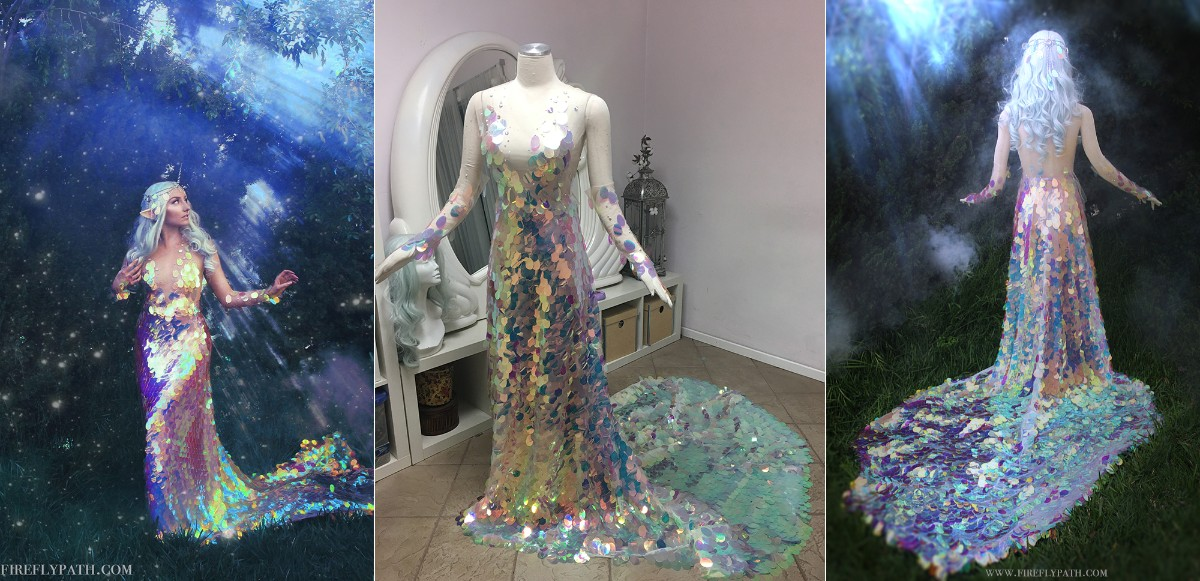 Unicorn Mermaid Gown