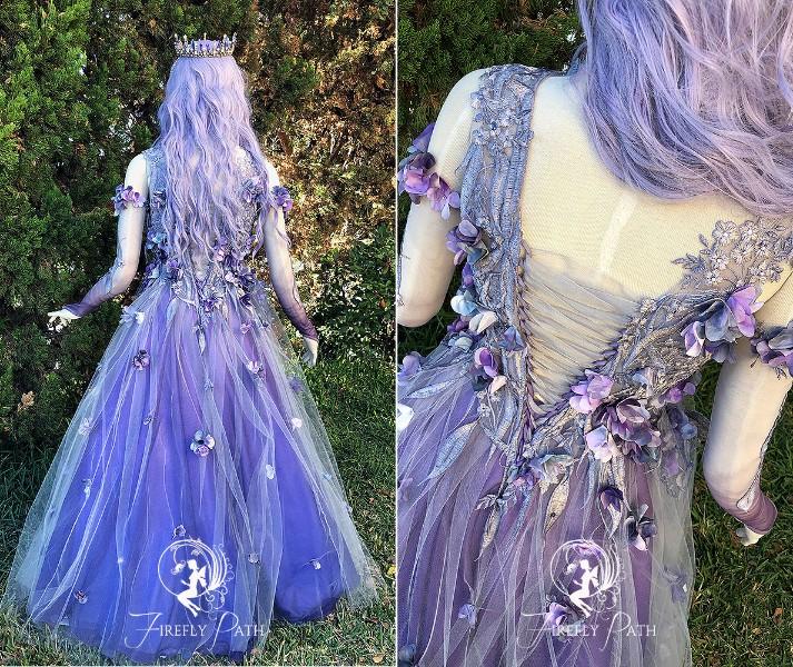 Dusk Faerie Gown