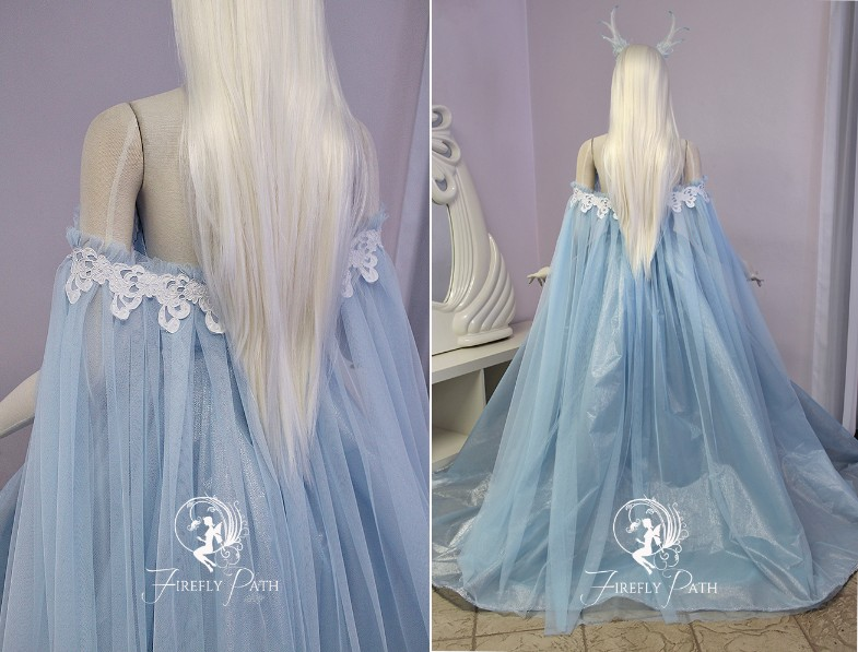 Frost Rose Gown
