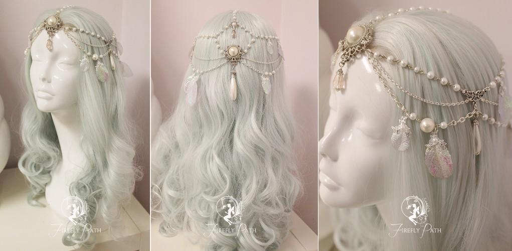 Pearl Bridal Circlet