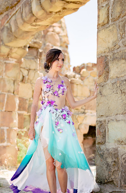 Plum Blossom Gown