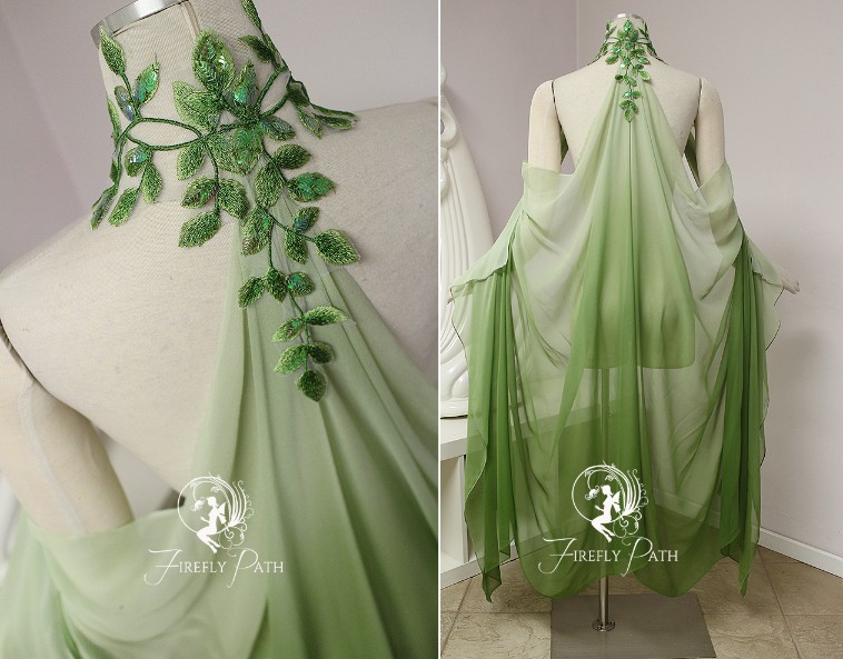 Leaf Elven Cape