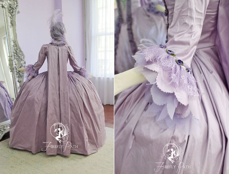 French Lavender Gown