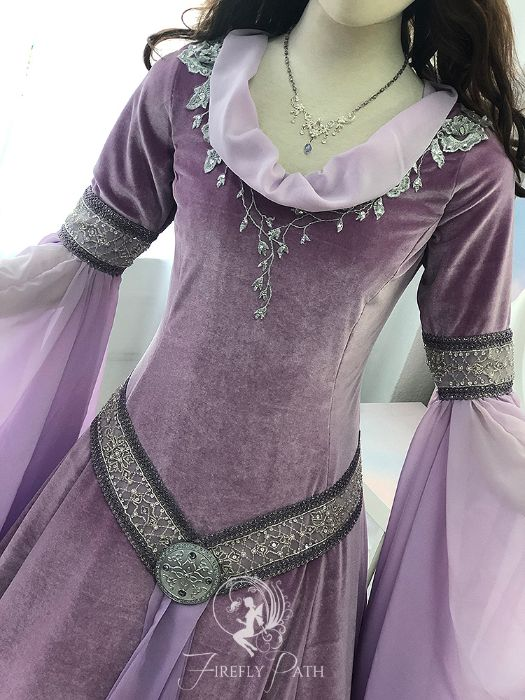 Lilac Elven Gown