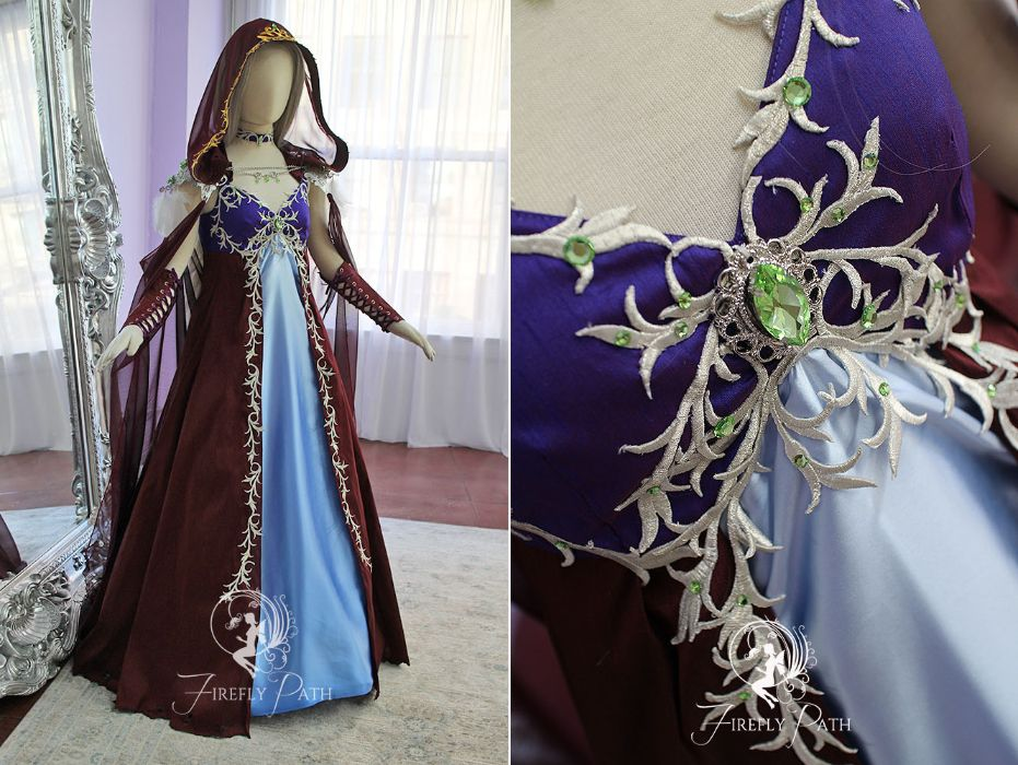 Sylvanas Windrunner Inspired Gown