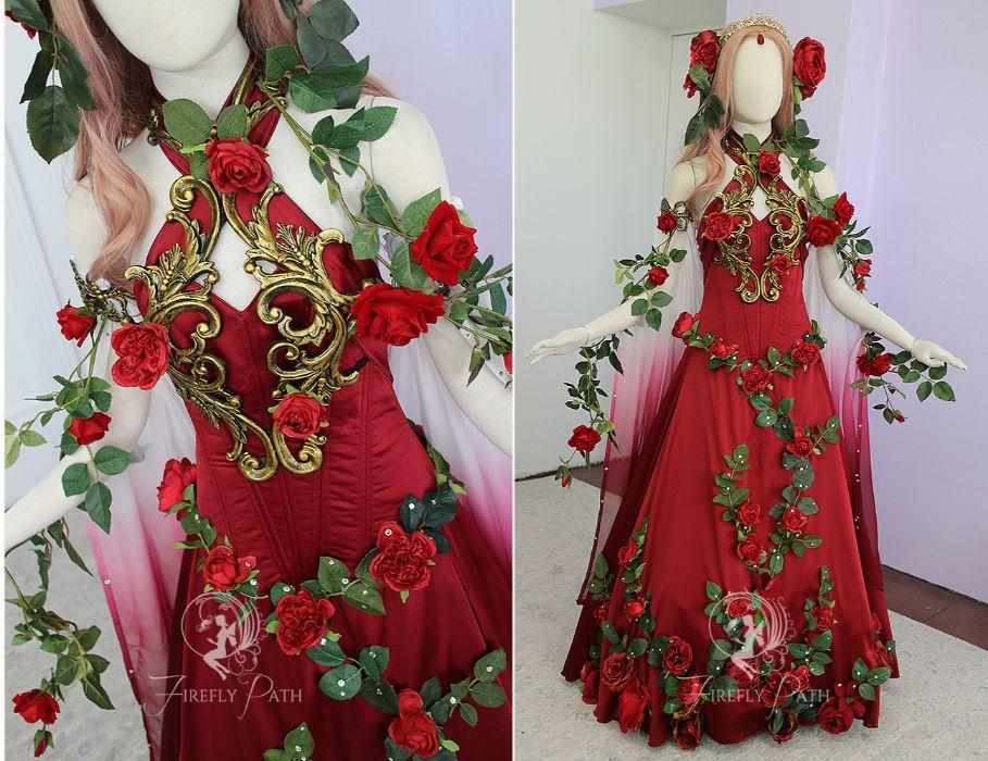 Rose Garden Gown