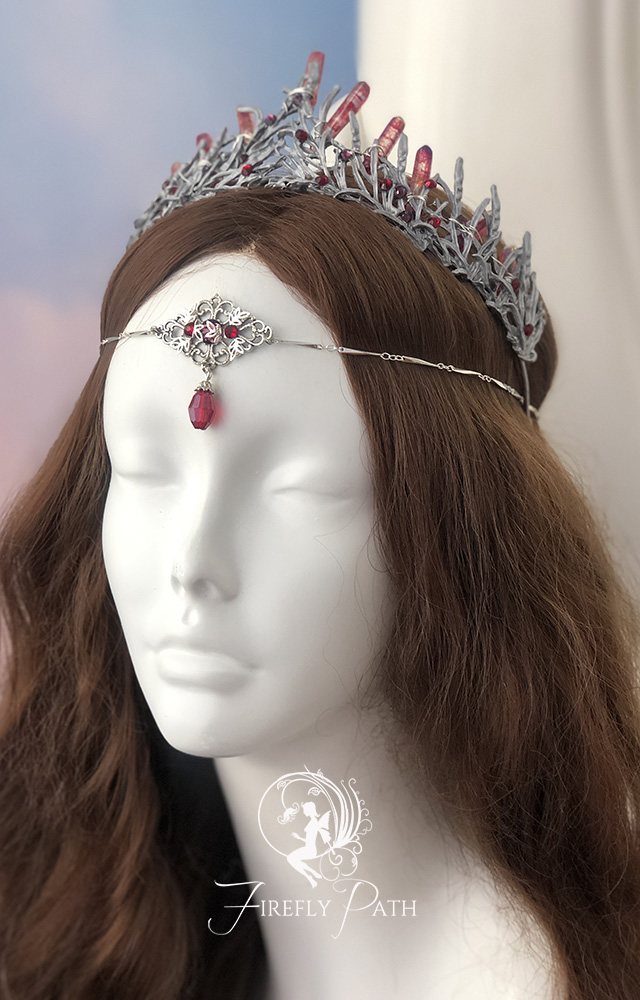 Crystal Red Crown