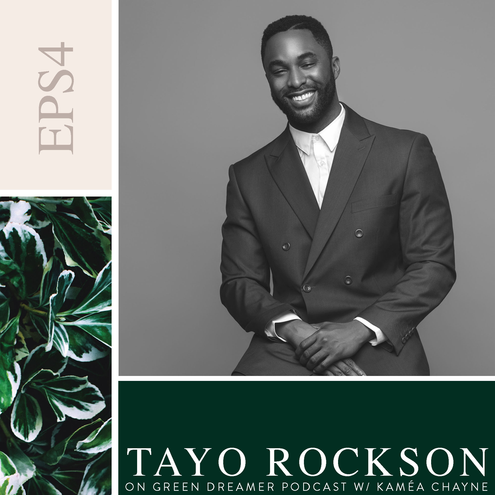 Tayo Rockson talks Sustainability on Green Dreamer Podcast with Kaméa Chayne