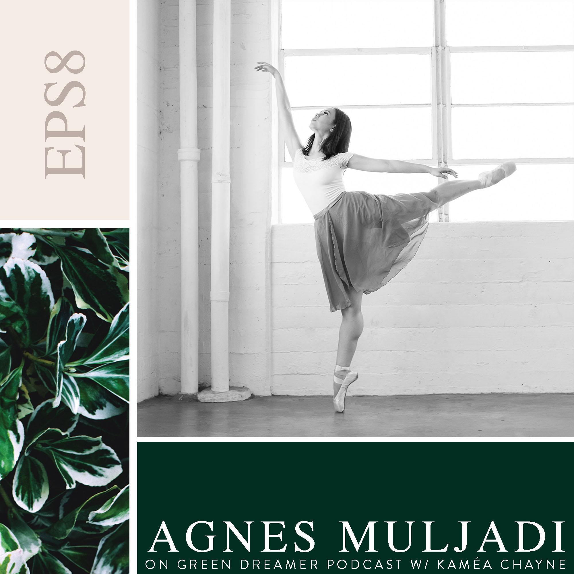 artsyagnes on Sustainability via Green Dreamer Podcast with Kaméa Chayne