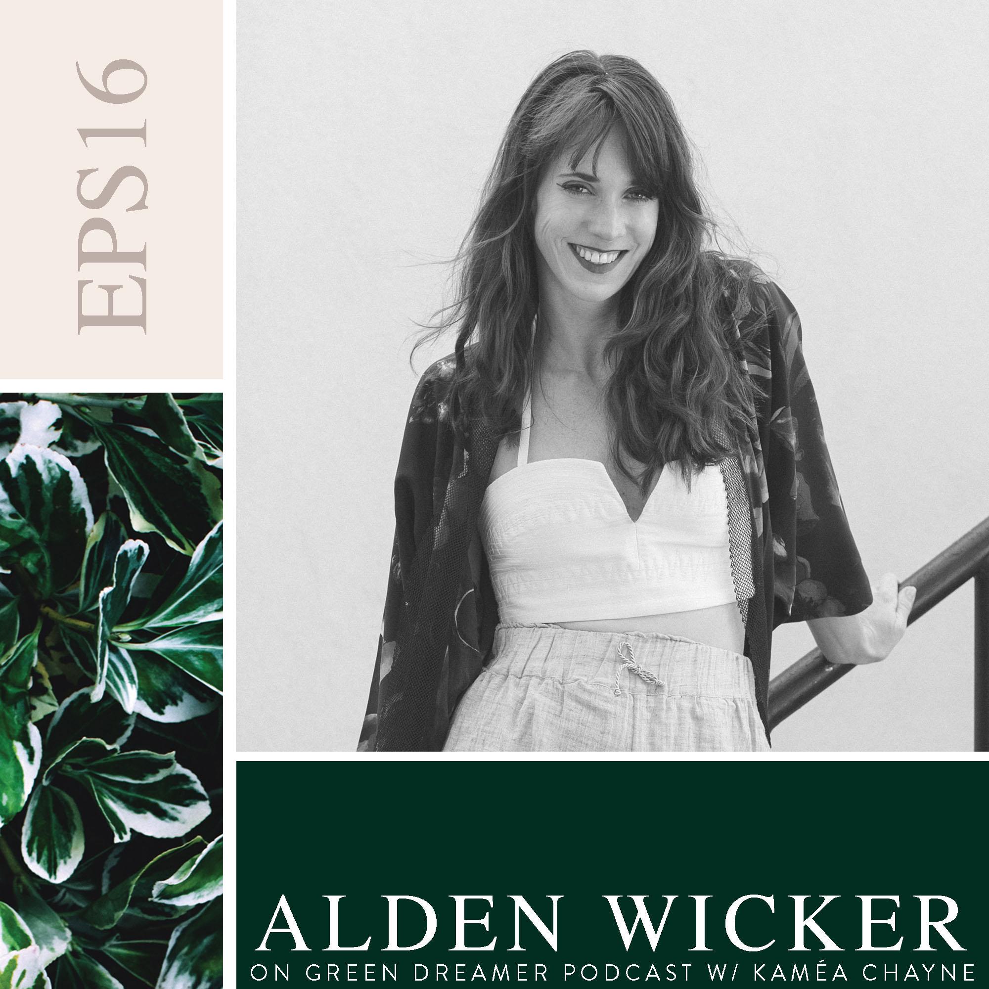 Alden Wicker on Sustainability via Green Dreamer Podcast with Kaméa Chayne
