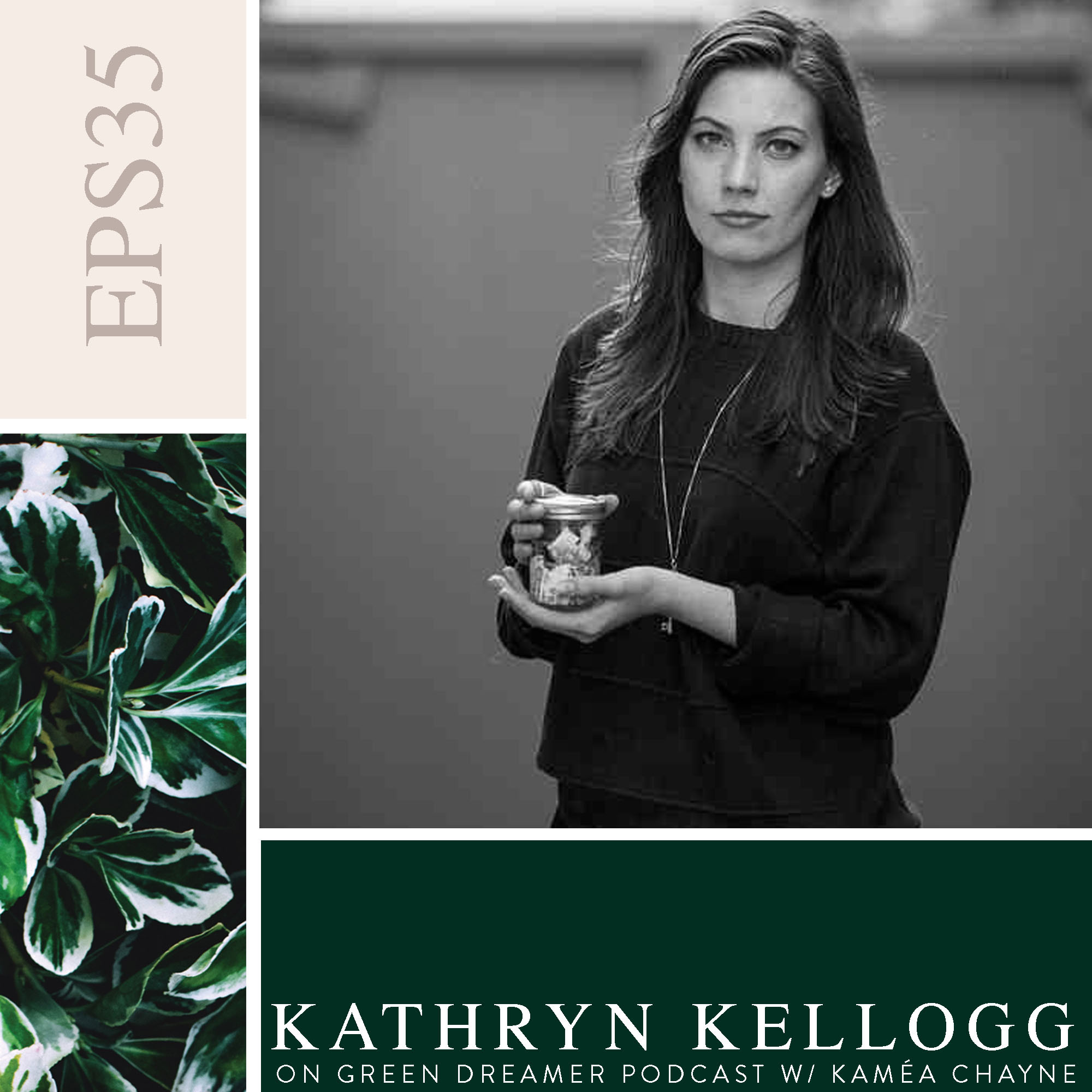 35) BW Kathryn-Kellogg-of-Going-Zero-Waste-Planet-or-Plastic-talks-Sustainability-on-Green-Dreamer-Podcast-with-Kaméa-Chayne.jpg