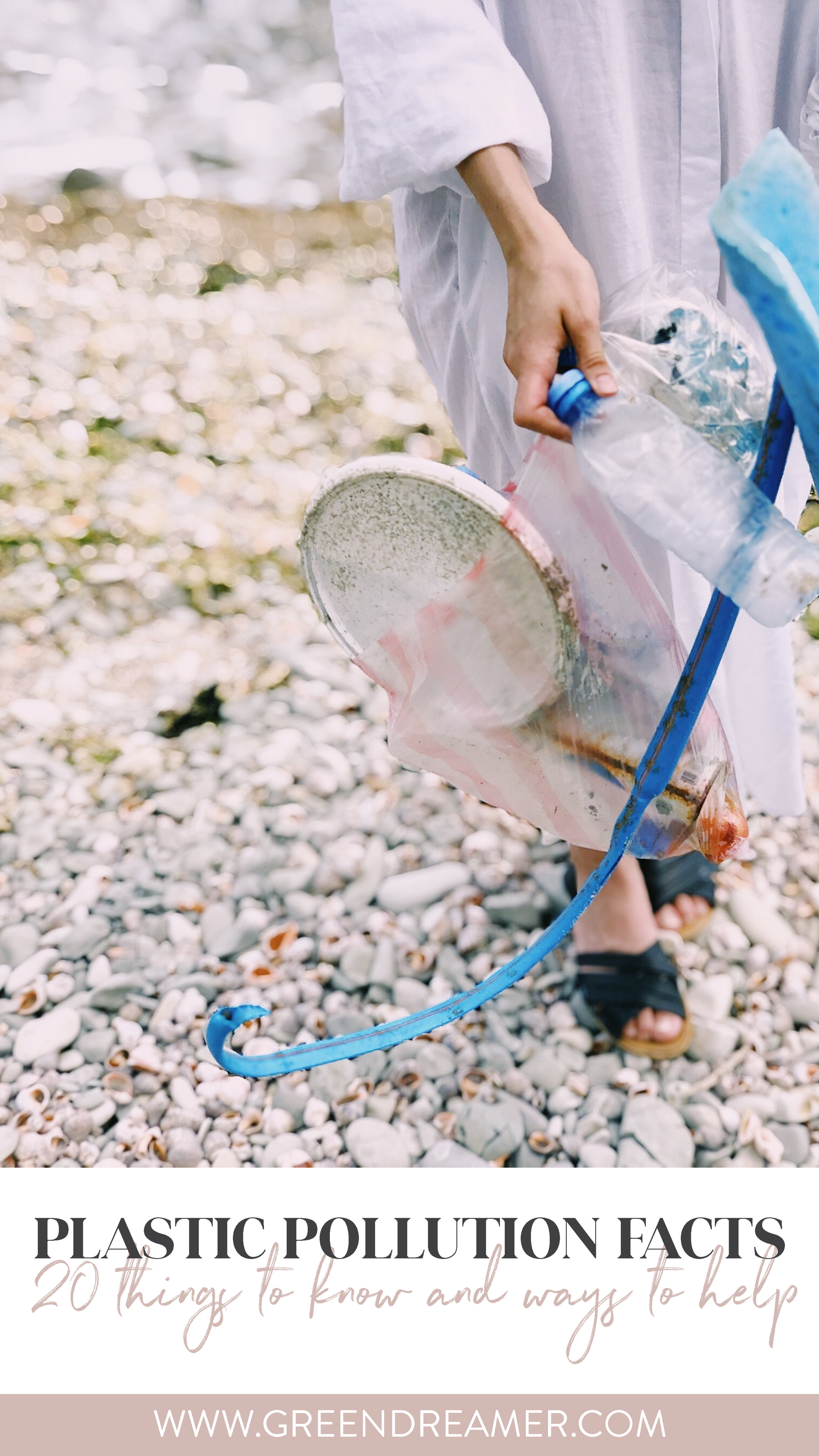 plastic pollution facts via green dreamer