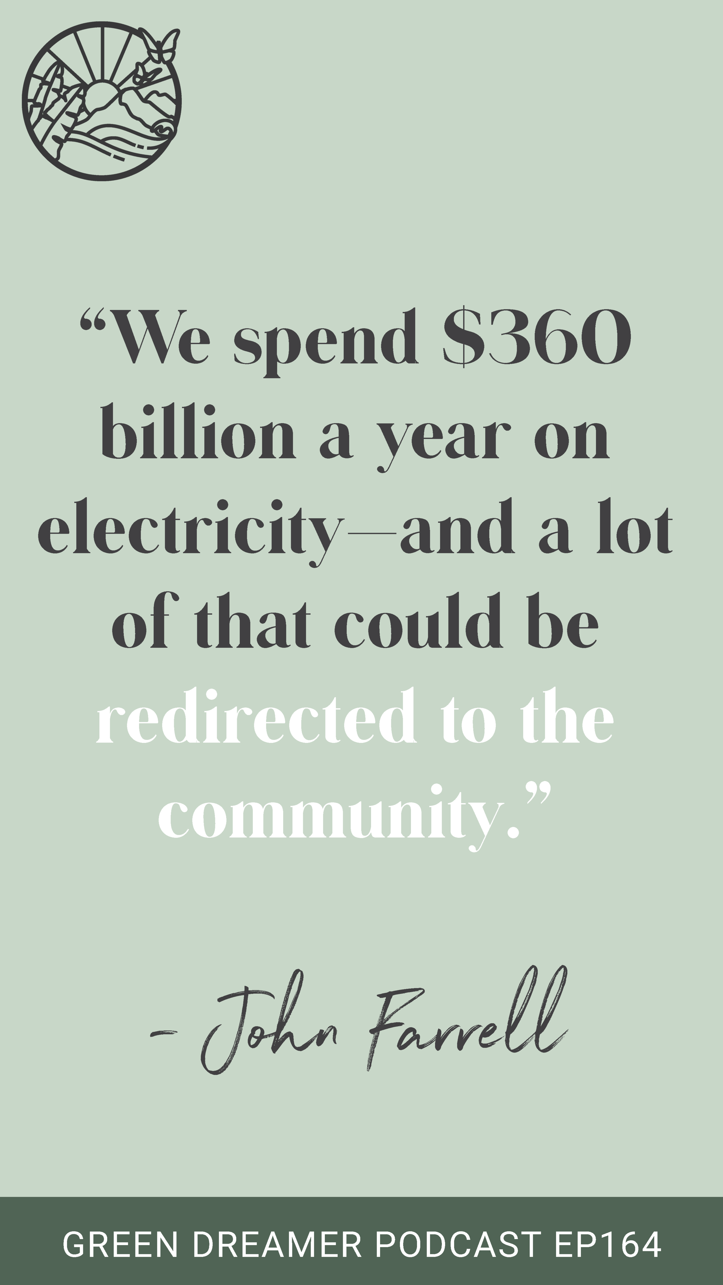 Decentralized energy quote
