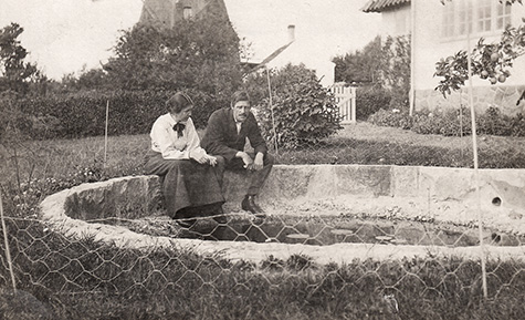 Alhed og Johannes Larsen