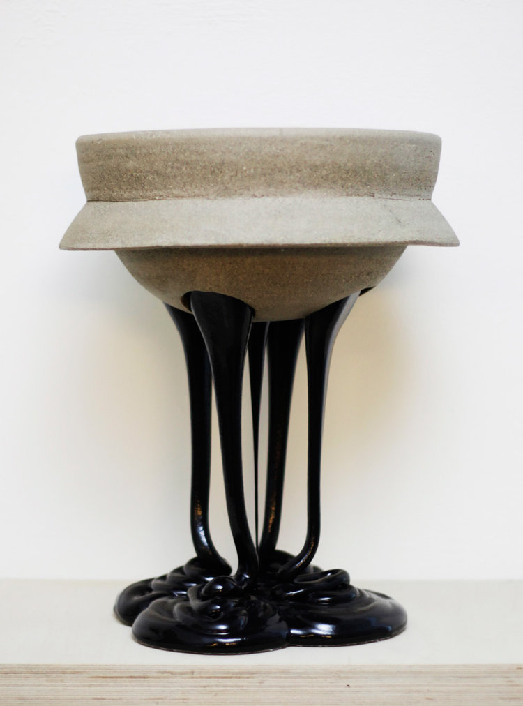 Christina Schou Christensen: Black legged bowl (2014)