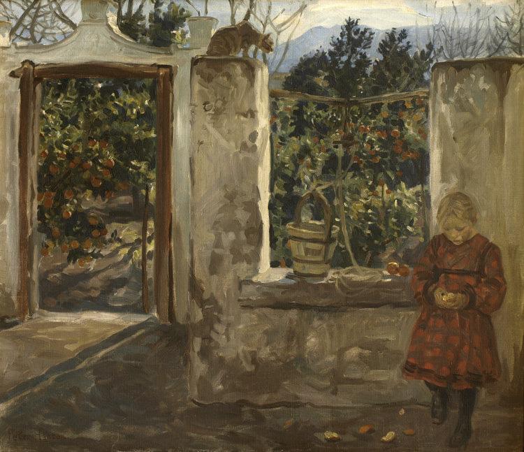 Peter Hansen: Bimse i Slaraffenland, ca. 1904