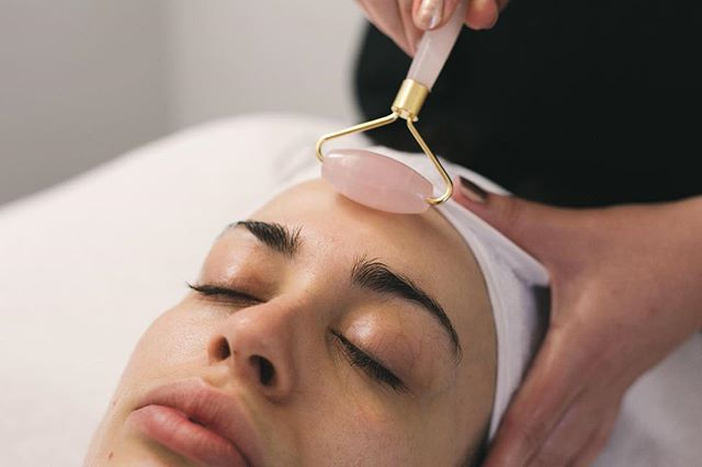 """✨ Add A Little Magic ✨ Customise your own facial with additional add ons to our base facial, Beauty of Bespoke. - Too book this facial online, start with Beauty of Bespoke in Facials, then head to Add A Little Magic, and select """"Jade Roller"""" plus any extras you might like!✨ link in the bio to view and book 👌🏻 🙌🏼 Magical."""