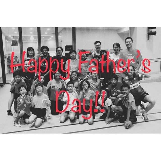 Happy Father's Day to all the father figures out there!! - - - #smolteambighearts #smolfloorball #happyfathersday #kidsport #lovedad #floorball #sgfloorball #community #unifiedsports #inclusive