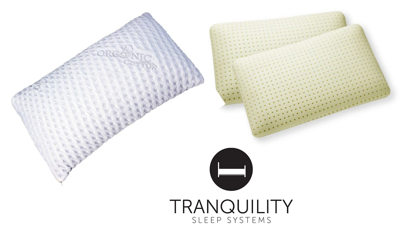 Memory Foam Pillows - From Tranquility Sleep Systems