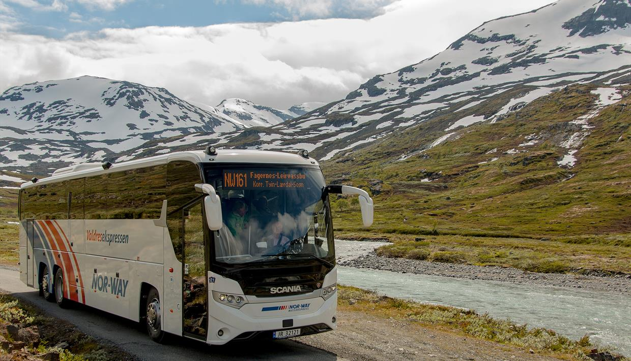 Take the festival bus from Oslo til Gjendesheim and Slow Business Adventure.