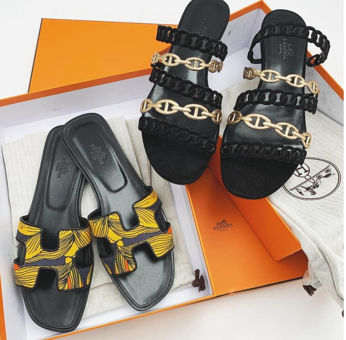 Luxe Hunt Deal: Hermes Sandals 50% off
