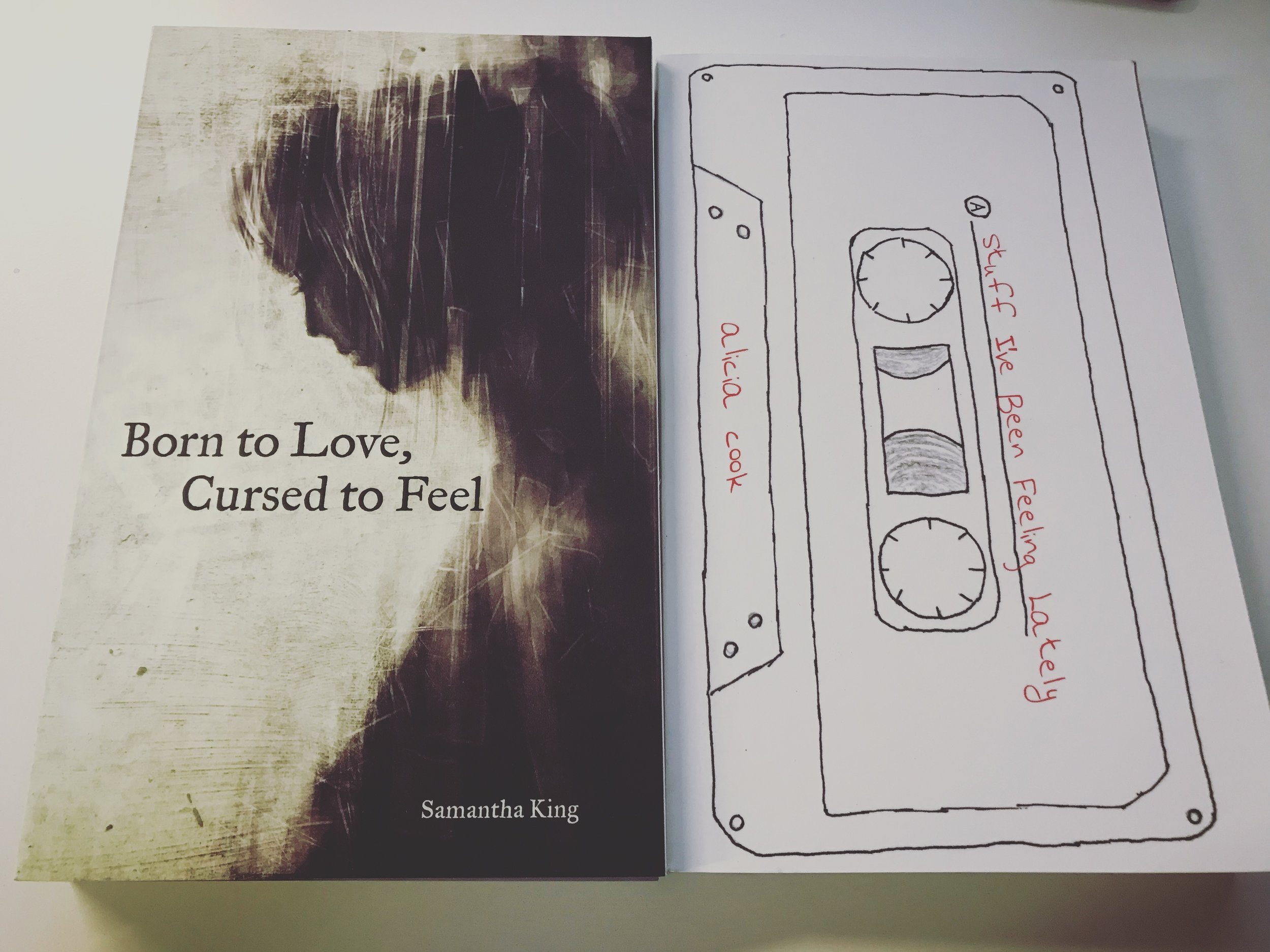 BORN TO LOVE, CURSED TO FEEL: SAMANTHA HOLMES / STUFF I'VE BEEN FEELING LATELY: ALICIA COOK