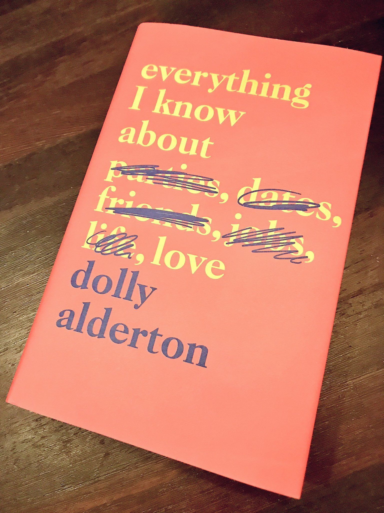 EVERYTHING I KNOW ABOUT LOVE: DOLLY ALDERTRON