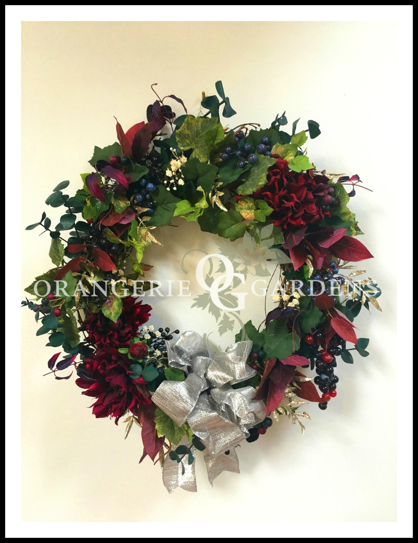 Bordeaux Vignoble Holiday Wreath