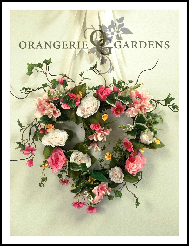 Romantic Rose Heart Wreath