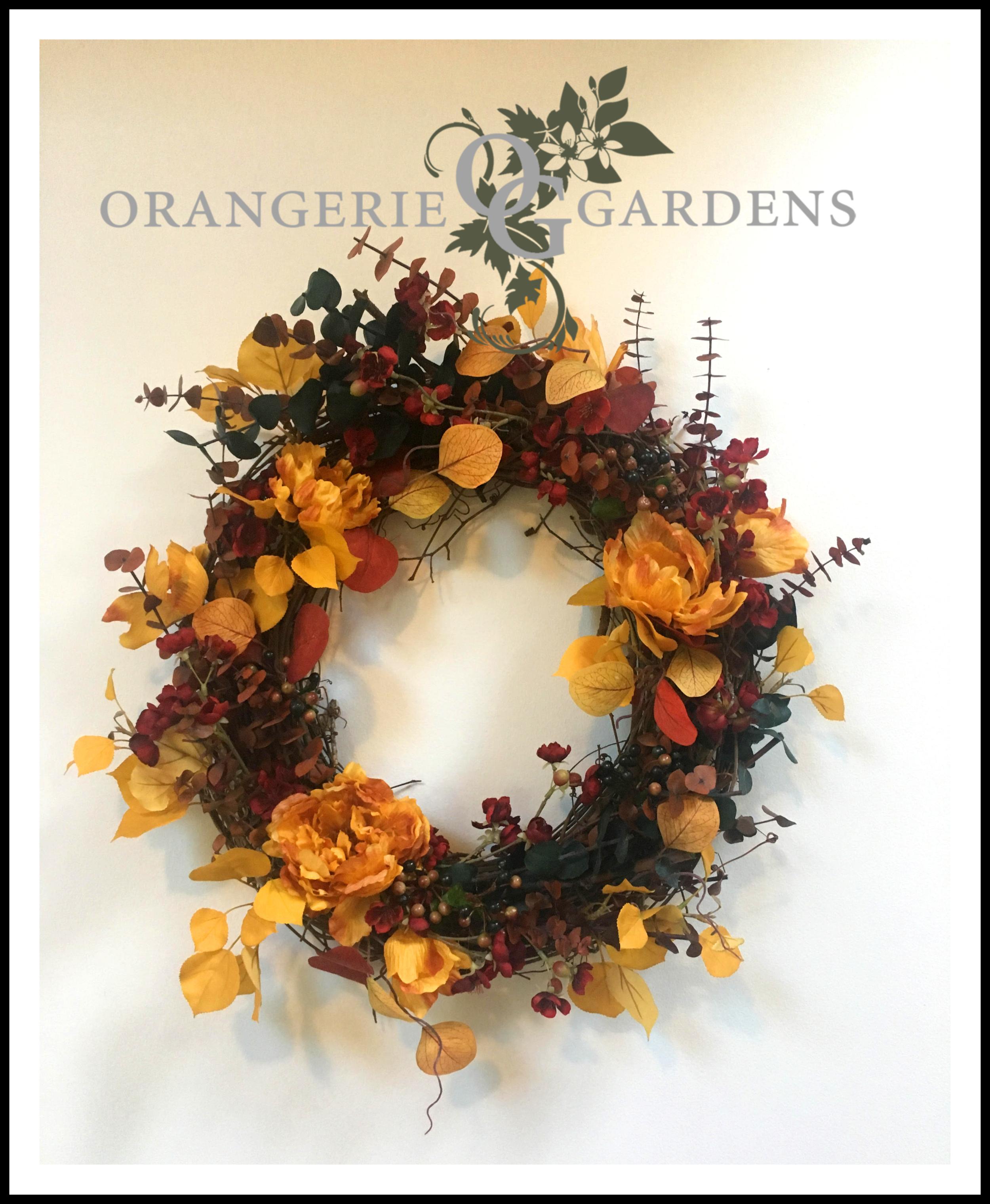 Golden Poplar Wreath