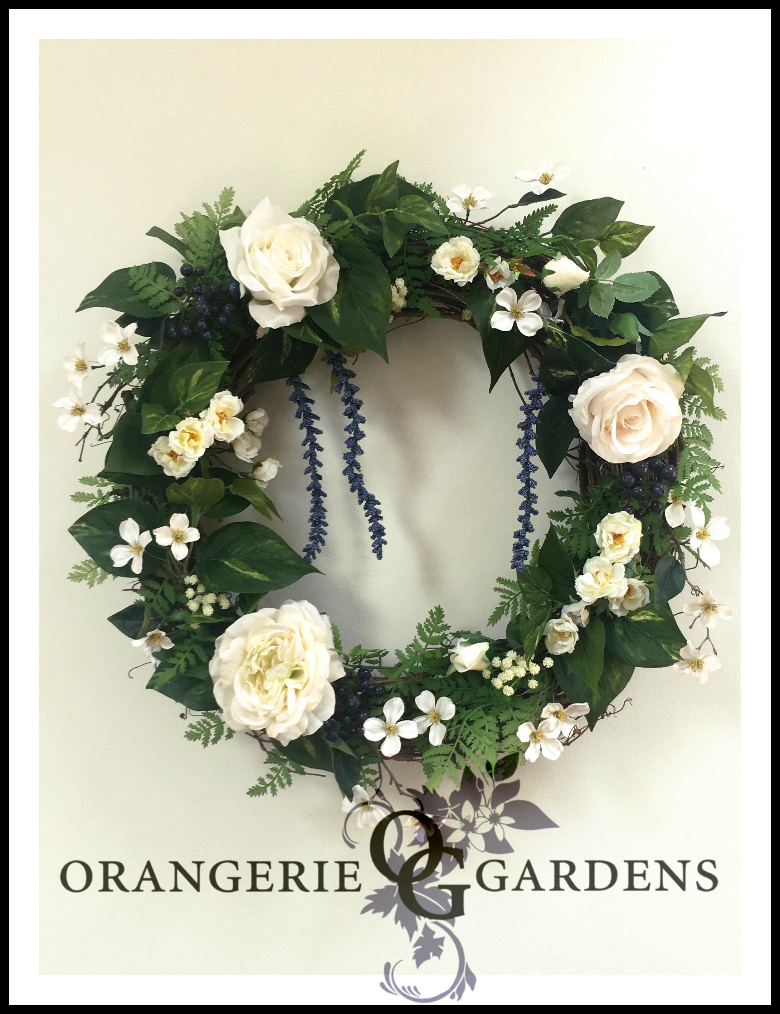 Orangerie Signature Blossom Wreath