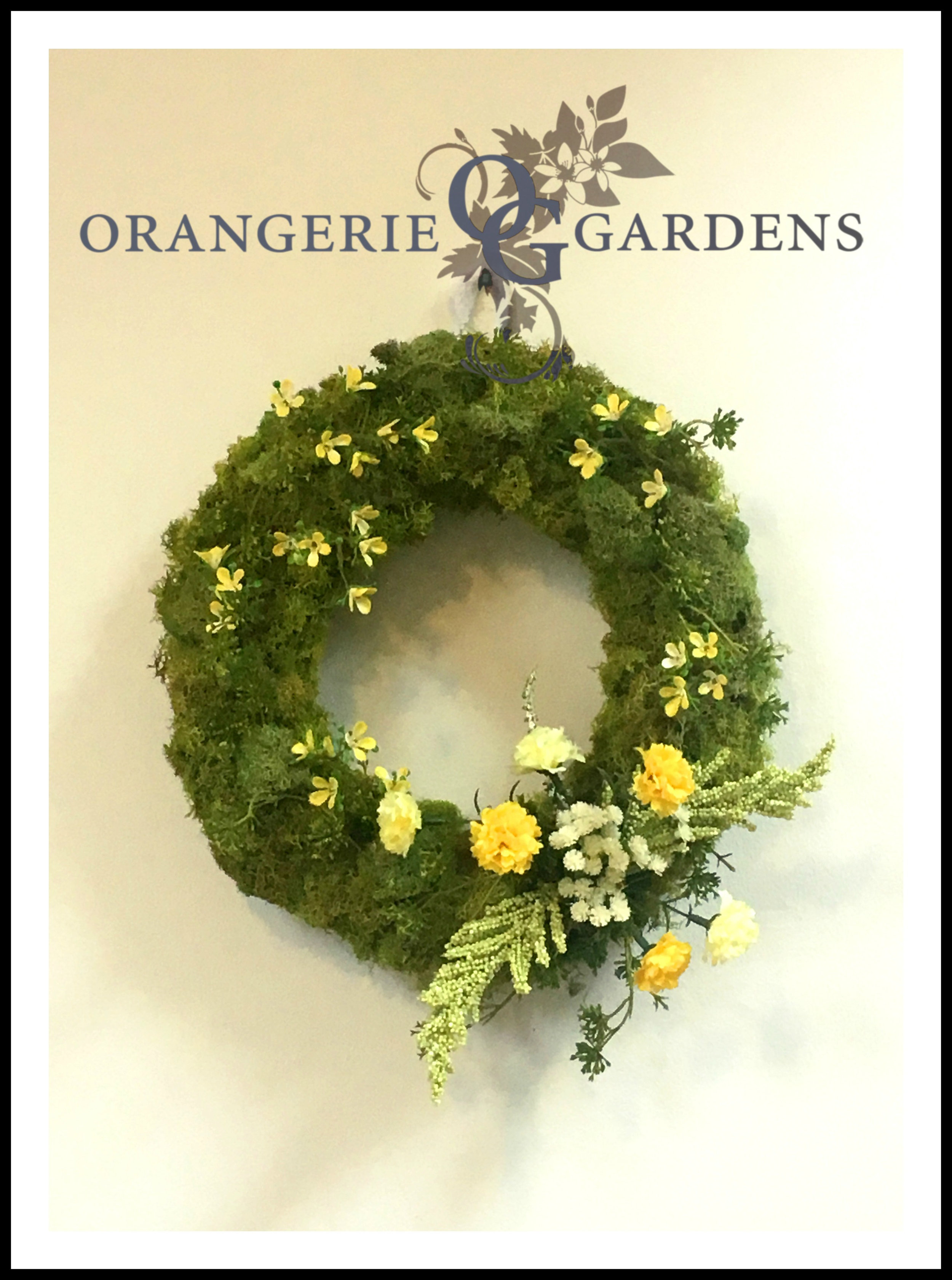 Preserved Moss Spring Wreath