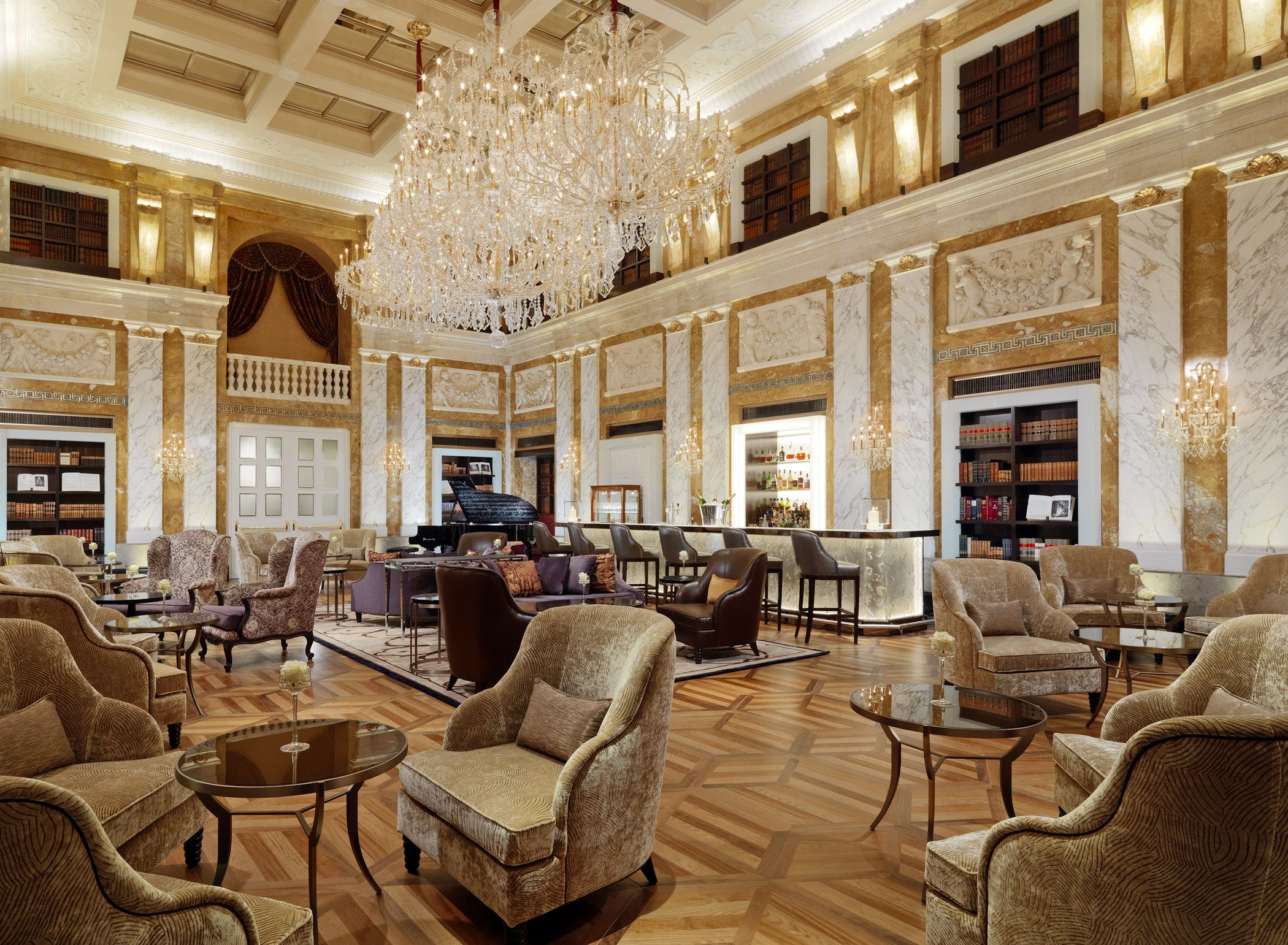 Excellence starts with intelligence and planning. - Hotel Imperial, a Luxury Collection Hotel, Vienna, Austria