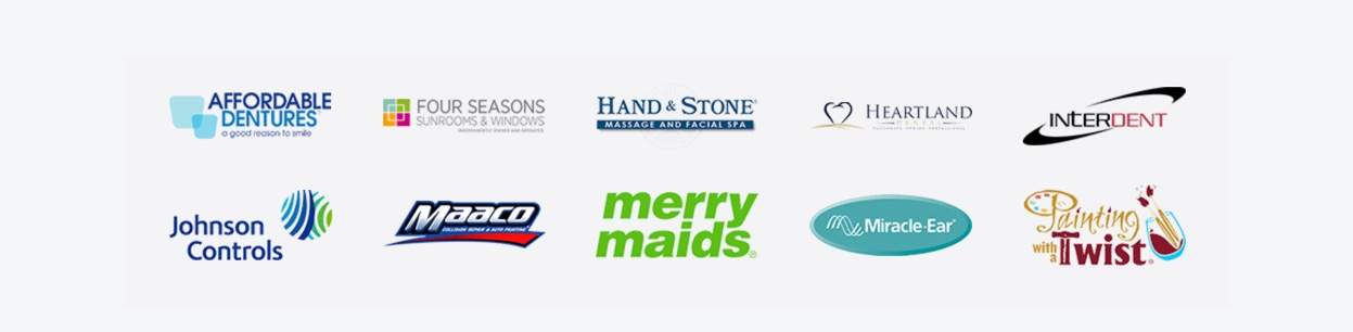 Centermark's clients include over 10,000 business network locations across 150 major brands.
