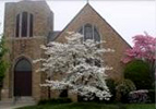 church building outdoors photo