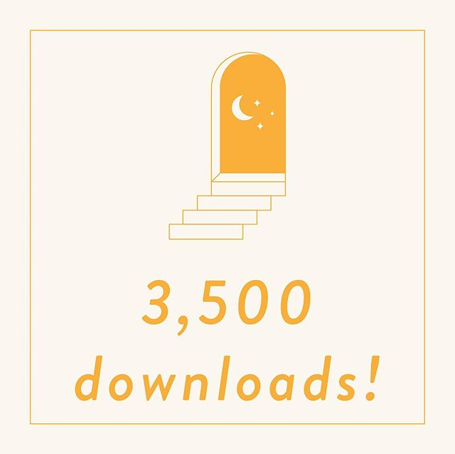 ✨3500 DOWNLOADS✨  just because these announcements are coming more and more quickly doesn't make them less special! we are so grateful to be gathering such a spectacular listenership and community with this podcast. it is such a wonderful feeling to put our voices and thoughts out there in the world and hear that they are thought-provoking, affirming, and resonant with folx and we always want to hear more ways we can do that, topics we can tackle, and questions we can answer.  as always, a huge shout out to our patrons Sarah, Avalon, Erin, Colleen, Amanda, and Iara for supporting our work and helping us even be able to do this whole thing via our patreon!  thanks y'all and we look forward to more creating! 💕 . . . #magic #celebration #podcast #podcastparty #openmagic #openmagicpodcast #witches #witch #witchcraft #tarot #astrology