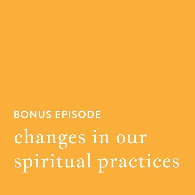 """bonus episode time!  we answered a dear patron's question today that was supposed to just be a short response—but you know how we are and it turned into a 30 min episode!  in this chat, we discuss how our practices have changed and evolved over time and we cover a lot of ground—including from childhood experiences to cultural appropriation, to name a few topics, all in the very """"mini"""" timeframe.  take a listen wherever you get your podcasts! 💓 . . . #magic #magical #spiritualpractices #spiritual #magick #witch #witches"""