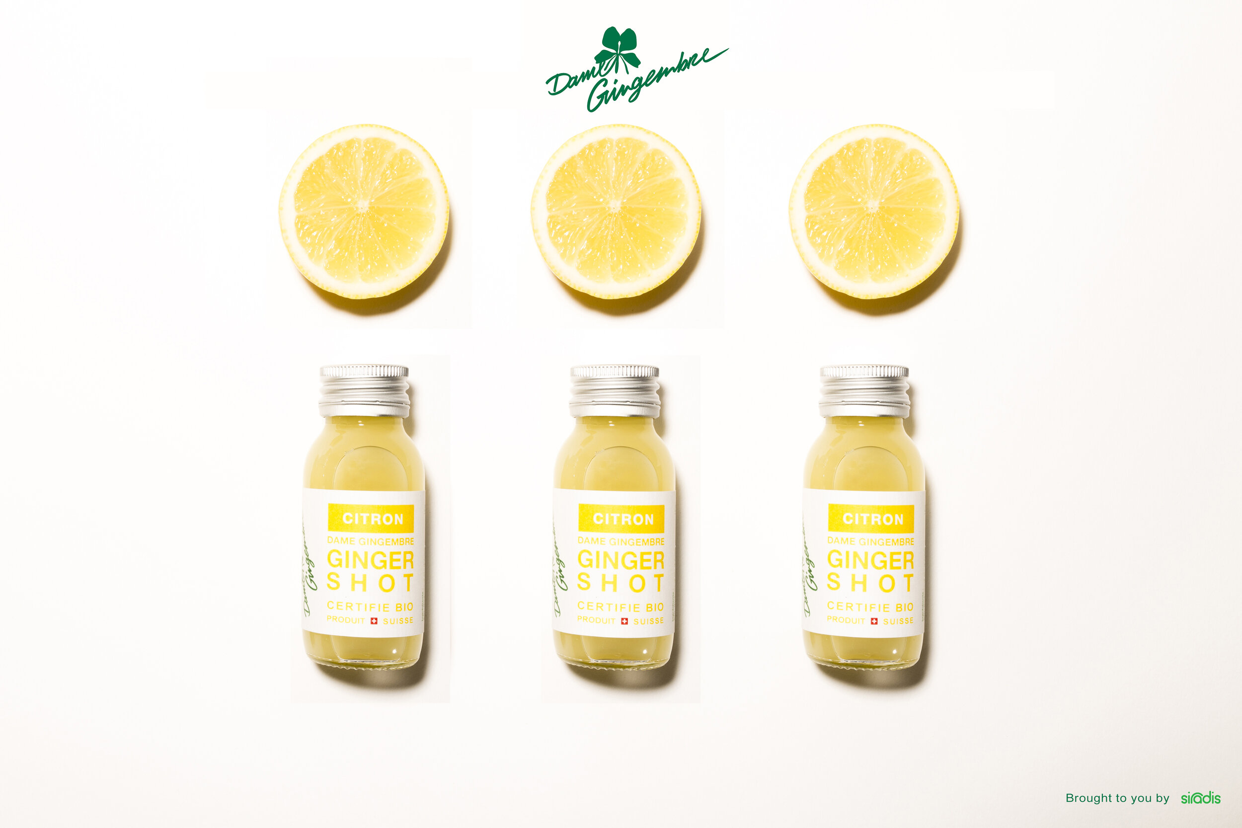 Shot gingembre citron dame gingembre