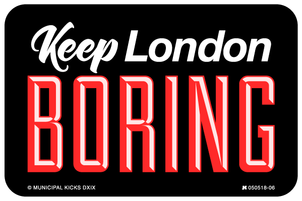 Sorry, We're London