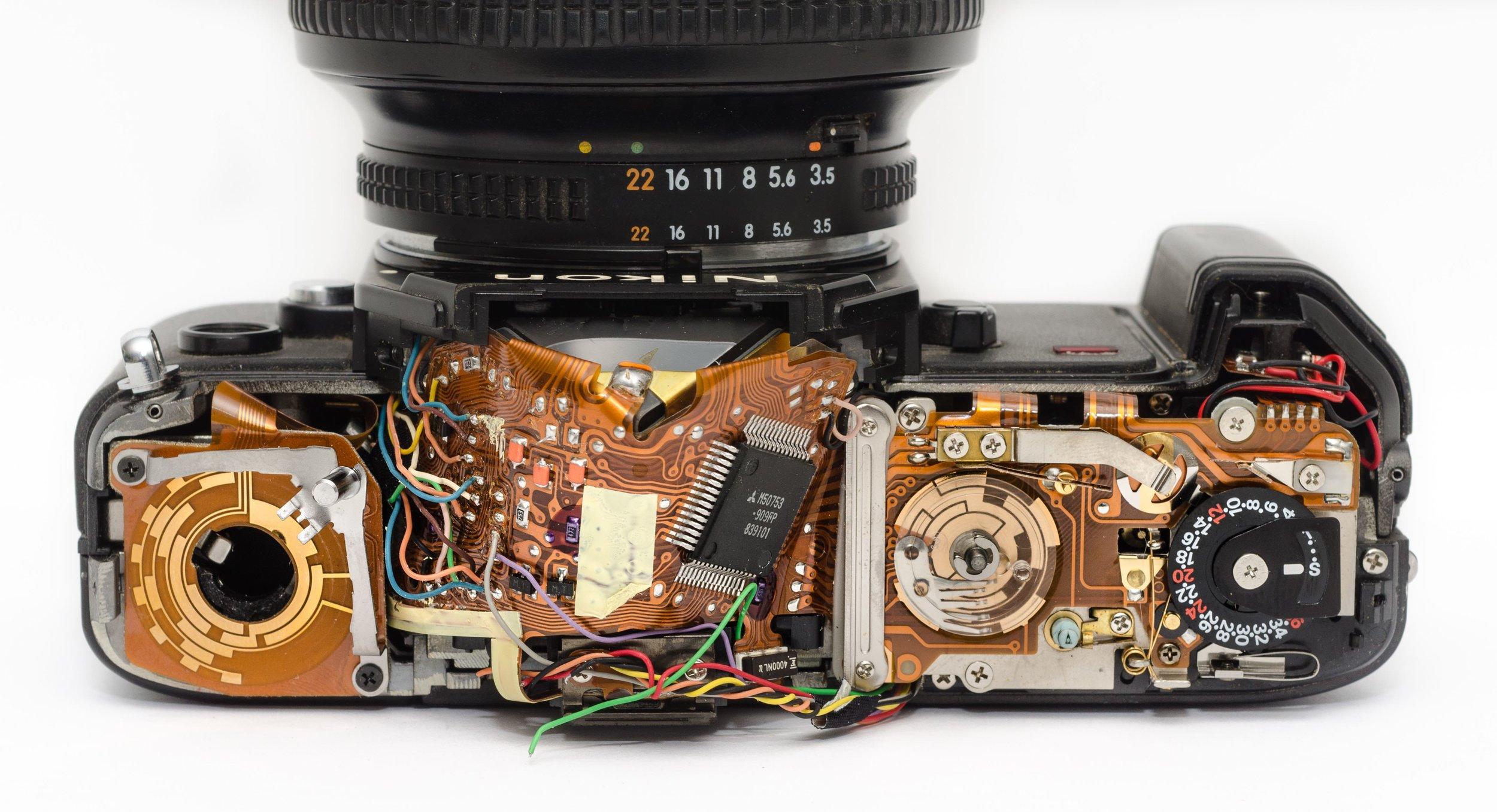 Broken camera broken link