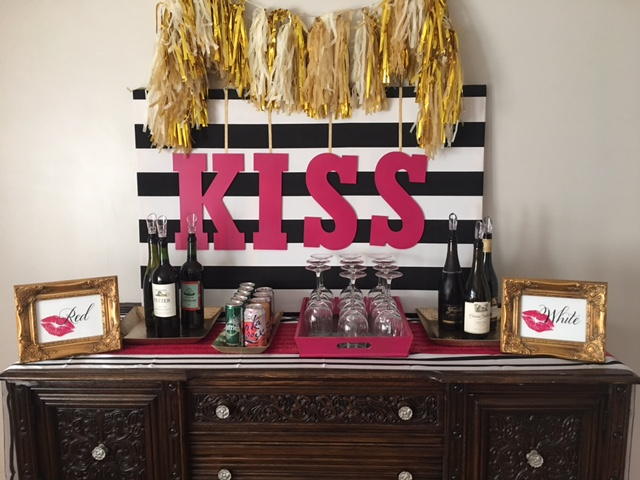 Lipsense Party - Kissing Booth - Wine Tasting