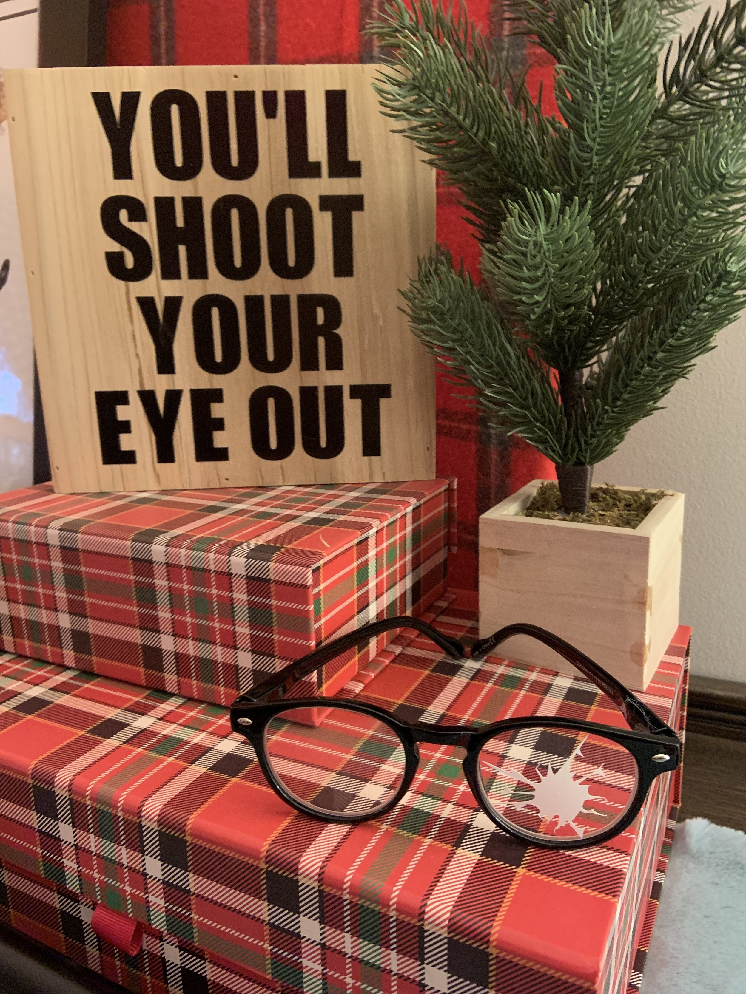 You'll shoot you're eye out. A Christmas Story Themed Holiday Party Decorating Ideas