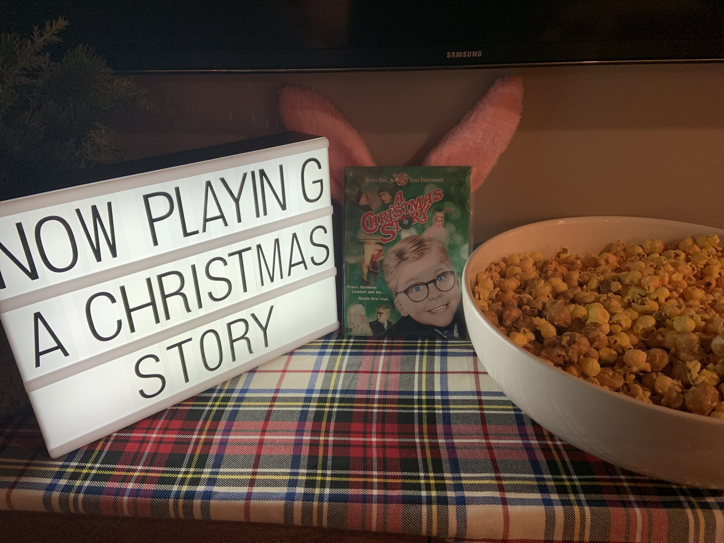 Now Playing! A Christmas Story Themed Holiday Party