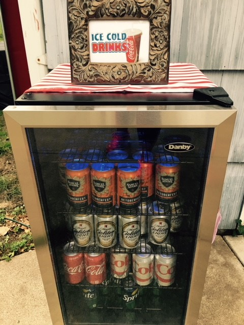 Backyard Movie Night Theme Party Concession Stand Drinks