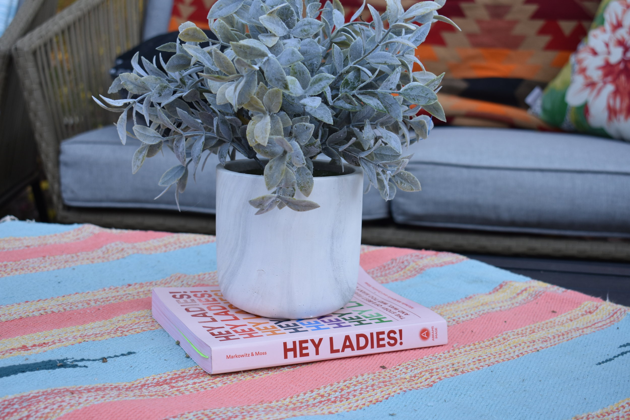 Hey Ladies Book Club party decorations
